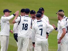 Warwickshire wrapped up a comprehensive win over Lancashire (Adam Davy/PA)