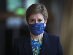 First Minister Nicola Sturgeon (Fraser Bremner/Scottish Daily Mail)