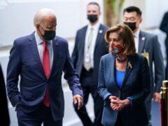 President Joe Biden and Speaker of the House Nancy Pelosi (J. Scott Applewhite/AP)