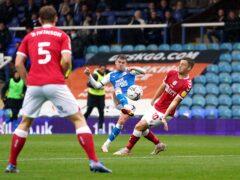 Sammie Szmodics was unable to prevent Peterborough losing against Bristol City (Joe Giddens/PA)