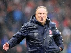 Middlesbrough manager Neil Warnock saw his side beaten by Hull (Richard Sellers/PA).
