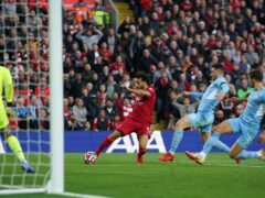Mohamed Salah scored for Liverpool in their 2-2 draw against Manchester City (Peter Byrne/PA)