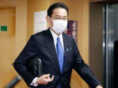 Fumio Kishida (Kyodo/AP)