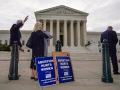 The Supreme Court is being asked to rule on the Texas abortion law (Scott Applewhite/AP)