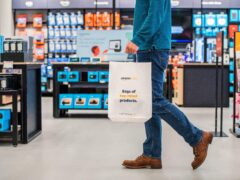 The interior of Amazon's first 4-star store outside of the US (Amazon/PA)