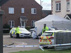 Policed activity at Snowdonia Road, Walton Cardiff, Tewkesbury (PA)