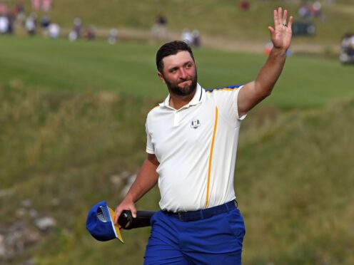 Ryder Cup star Jon Rahm is targeting victory on home soil (Anthony Behar/PA)
