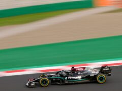 Lewis Hamilton finished fastest in both sessions (Francisco Seco/AP)