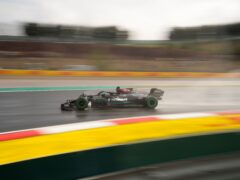 Lewis Hamilton completed only five laps (Francisco Seco/AP)