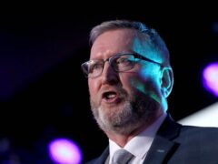 UUP Party leader Doug Beattie at the Ulster Unionist Party conference in Belfast (Brian Lawless/PA)