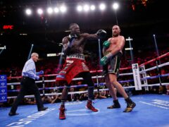 Deontay Wilder and Tyson Fury produced a classic in their trilogy fight in Las Vegas (Chase Stevens/AP)