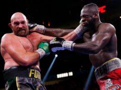 Tyson Fury beat Deontay Wilder (Chase Stevens/AP)