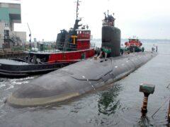 A nuclear-powered US submarine (Jack Sauer/AP)