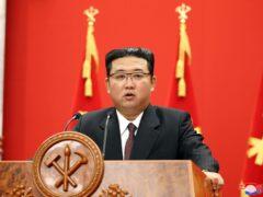 North Korean leader Kim Jong Un (Korean Central News Agency/Korea News Service via AP)