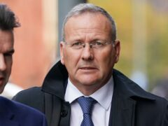 Stewart Edgar denies fraud in the auction of a fire service Land Rover (Jacob King/PA)