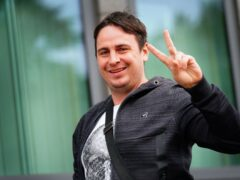 YouTube prankster Daniel Jarvis arrives at Croydon Magistrates' Court (Victoria Jones/PA)