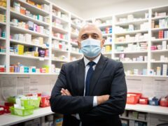 Health Secretary Sajid Javid has said he is 'sorry' for the losses and suffering which have occurred during the Covid-19 pandemic (Stefan Rousseau/PA)