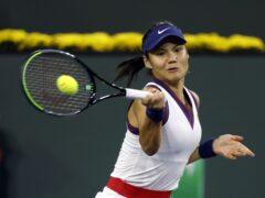 Emma Raducanu will play on the WTA tour in Austria next month (PA Wire via SIPA)
