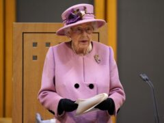 The Queen has appeared to suggest she is irritated by a lack of action in tackling the climate crisis (PA)