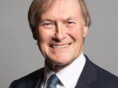 Undated handout photo issued by UK Parliament of Conservative MP Sir David Amess. (Chris McAndrew/PA) Issue date: Friday October 15, 2021.