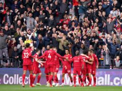 Liverpool hammered Watford (Tess Derry/PA)