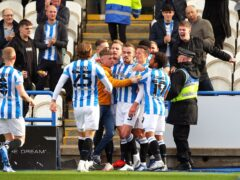 Huddersfield eased to victory (Tim Markland/PA)