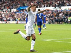 Jamie Paterson scored Swansea's opening goal in their 3-0 victory over Cardiff (Nick Potts/PA)