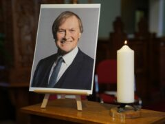 Conservative MP Sir David Amess died after he was stabbed several times at a constituency surgery on Friday (Kirsty O'Connor/PA)