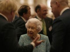 The Queen at Windsor (Alastair Grant/PA)