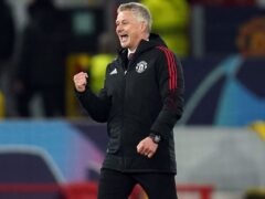 Ole Gunnar Solskjaer was delighted to see Manchester United battle back against Atalanta (Martin Rickett/PA)