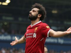 Liverpool's Mohamed Salah said he cannot see himself playing for another club (Nigel French/PA)