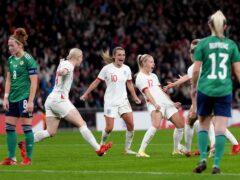 England and Northern Ireland will meet again at Euro 2022 (John Walton/PA)