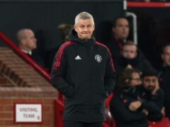 Manchester United manager Ole Gunnar Solskjaer saw his side thrashed by Liverpool (Martin Rickett/PA)