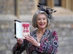 Actress Maureen Lipman after being made a dame by the Prince of Wales during an investiture ceremony at Windsor Castle (Steve Parsons/PA)