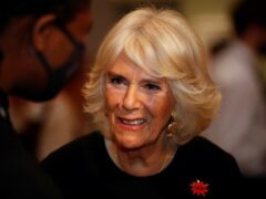 The Duchess of Cornwall during a reception for the 'Shameless! Festival' (Peter Nichols/PA)