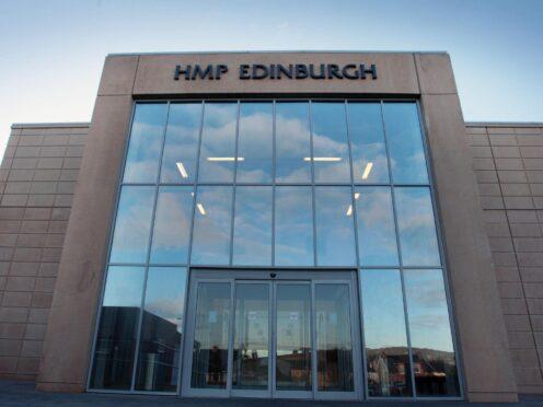 Allan Marshall was on remand at HMP Edinburgh (David Cheskin/PA)