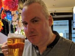 Carl Whalley, 57, who died when a house collapsed in a house fire in Clayton-le-Woods, Lancashire (Lancashire Police/PA)