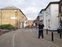 Police at the scene in Brentwood, Essex (Essex Police/PA)