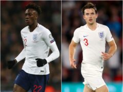 Tammy Abraham, left, and Ben Chilwell have been added to England's squad (Nick Potts/Adam Davy/PA)