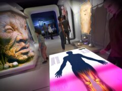 A concept drawing of the Doctor Who Worlds of Wonder exhibition, which is coming to the World Museum in Liverpool next year (National Museums Liverpool/PA)