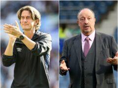 Thomas Frank and Rafael Benitez (PA)
