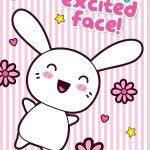 Excited Face Poster