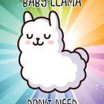Llama Drama Poster