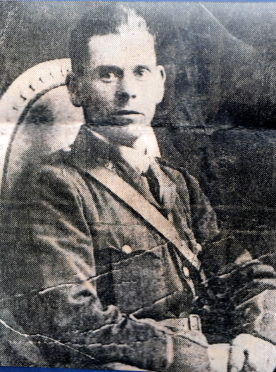 Alistair Greig's victims investigation photo of Percy Toplis