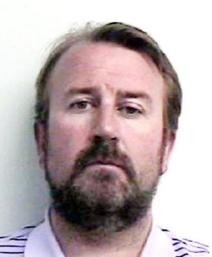 Alistair Greig investigation photo of mortgage swindler Edwin McLaren