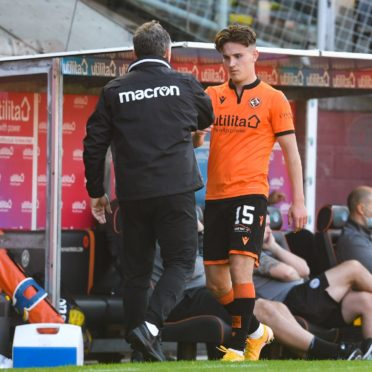 Logan Chalmers is one of Dundee United's brightest academy graduates.
