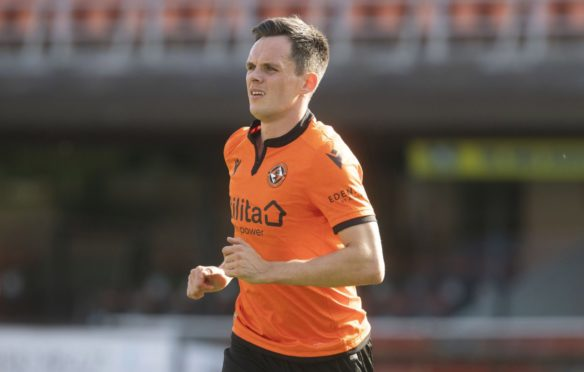 Dundee United star Lawrence Shankland.