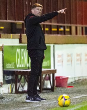 Mark Wilson still had faith in his Brechin City players before dismissal.