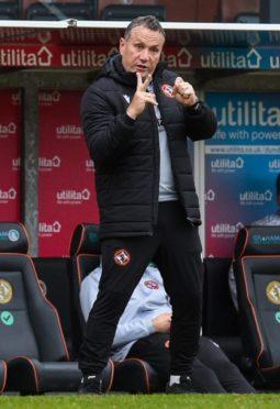 Dundee United boss Micky Mellon.
