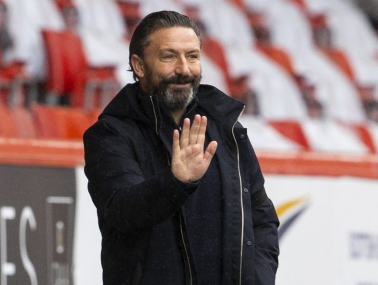 Aberdeen manager Derek McInnes does not expect to have transfer funds available next month.